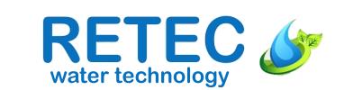 Logo Retec water technology Regenwassernutzung Betonzisternen Regentonnen Regenwasserfilter Osmoseanlagen